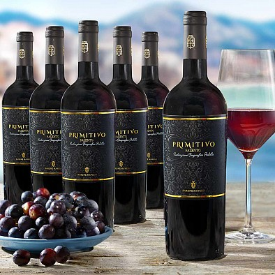 Offerta promozionale 6 bottiglie Primitivo Salento IGT