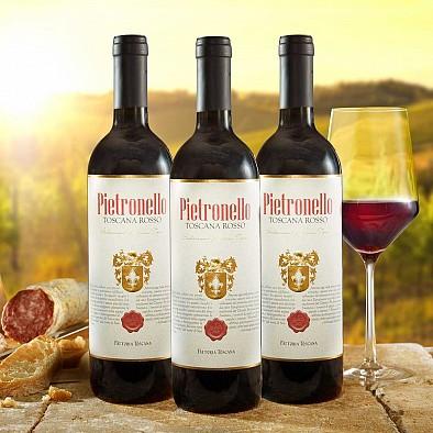 3x Pietronello Toscana Rosso IGT