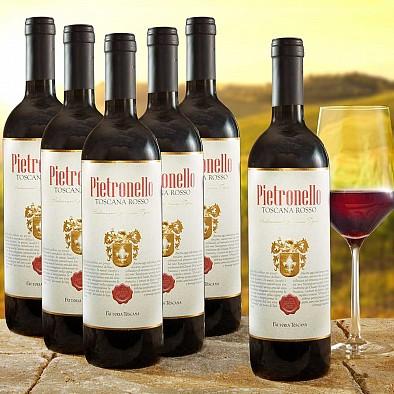 6x Pietronello Toscana Rosso IGT