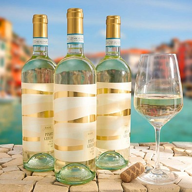 3 x Pinot Grigio DOC delle Venezie