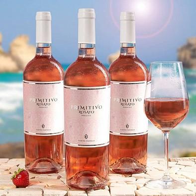 Primitivo Rose IGT Puglia - 3 bouteilles
