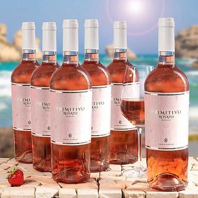 Primitivo Rose IGT Puglia 6 bouteilles