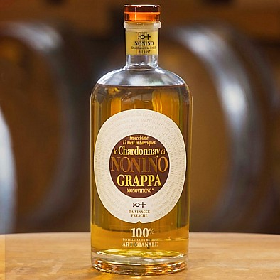 Grappa Lo Chardonnay Barrique Nonino