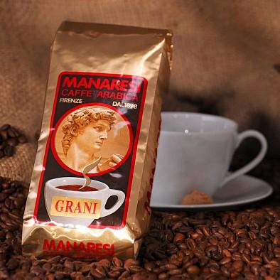 Manaresi Espresso Miscela Oro in grani