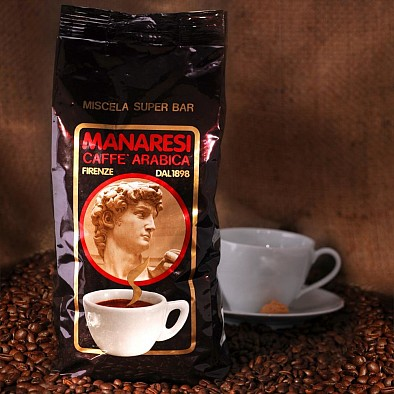 Manaresi Espresso Super Bar Brown in grani