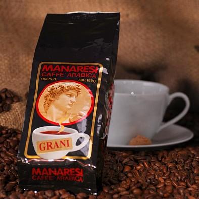 Manaresi Espresso Super Bar Brown in grani