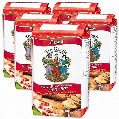 Set 5 x Farina Pizza Tre Grazie