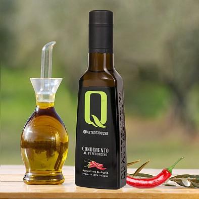 Olio Extra Vergine Quattrociocchi al Peperoncino