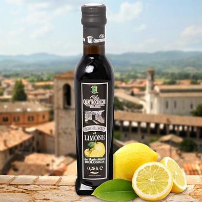 Olio Extra Vergine Quattrociocchi al Limone Bio