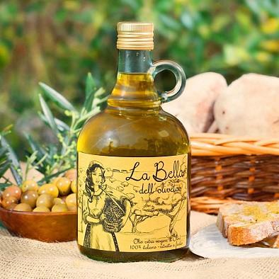 Huile d'olive extravierge - La Bella dell'Oliveto