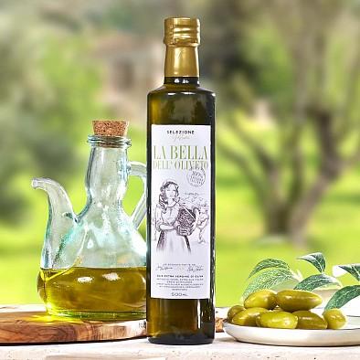 La Bella - Meilleure huile d'olives - Italie 2019 - moyennement fruitée