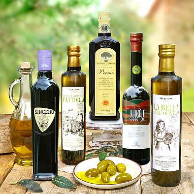 Lot de 4 Huiles d'olives 2020