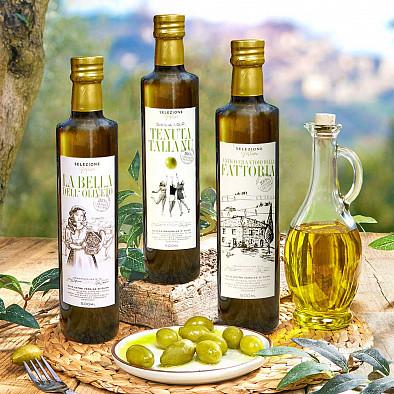 Terzetto Eccellenza - Trio d'huiles d'olives