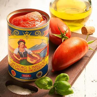 Tomates San Marzano Pomodoro dell Agro Sarnese Nocerino DOP