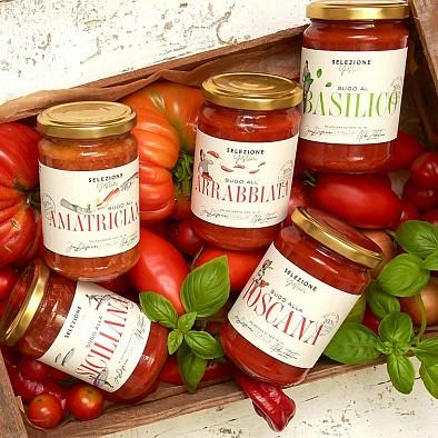 Authentique sugo italien - Lot de 5 pots