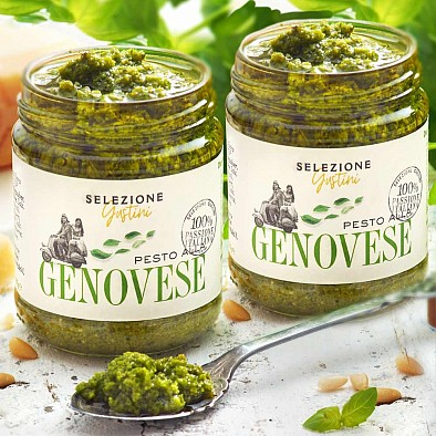 Lot de 2 Pesto alla Genovese