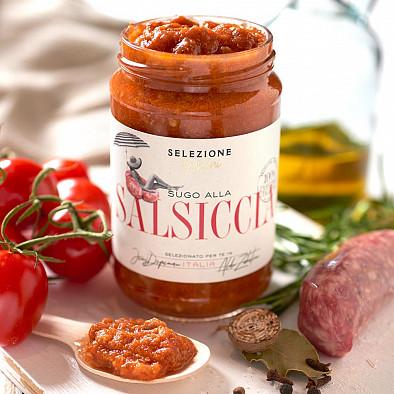 Sauce tomate á la salsiccia