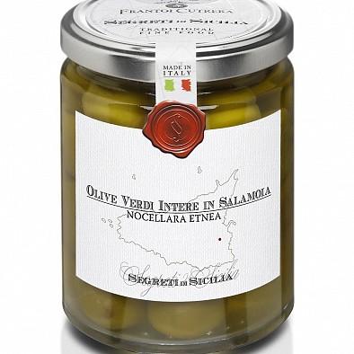 Olive verdi Nocellara Etnea in salamoia