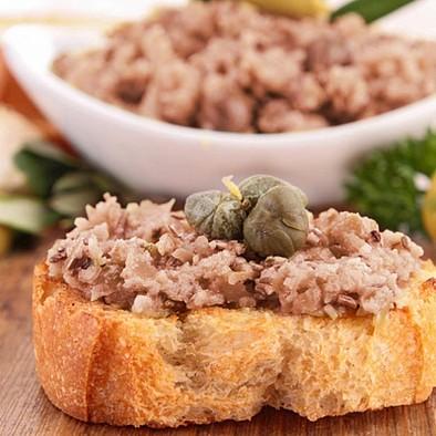 Patè di tonno e salmone