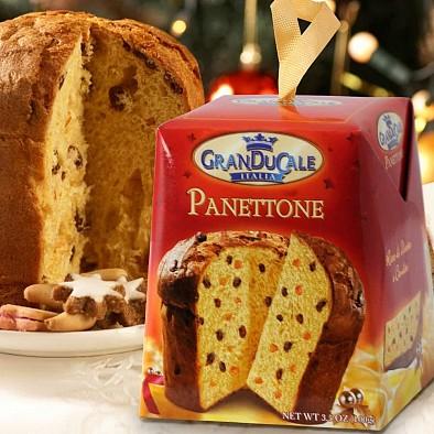 Panettone traditionnel de Noël