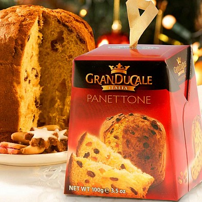 Panettone traditionnel de Noël