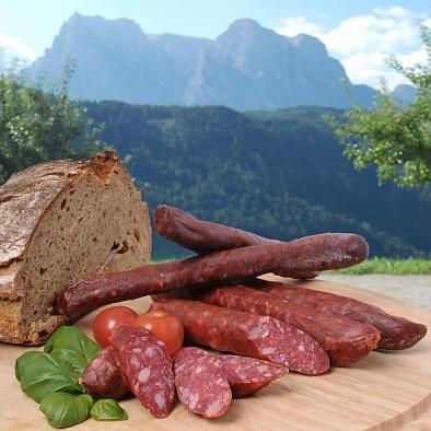 Saucissons fumés du Tyrol