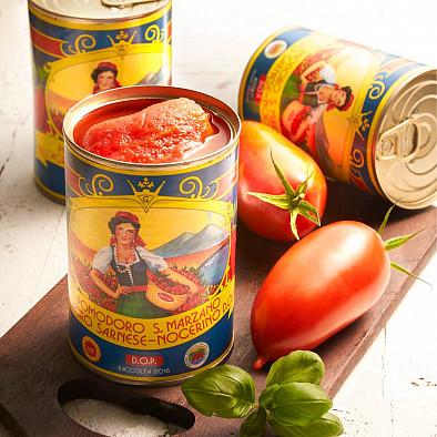 Tomates San Marzano AOC pelées 3x