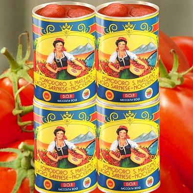 Tomates San Marzano AOC pelées 4x