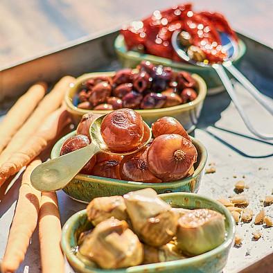 Set de dégustation Antipasti - Végétarien