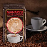 Espresso Manaresi Super Bar Brown macinato