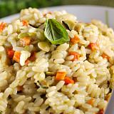 Mélange pour risotto aux légumes méditerranéens