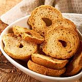 Crostini - Anneaux de pain croustillants