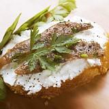 Filetti di alici con aglio e prezzemolo