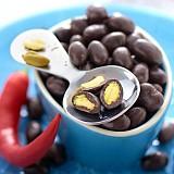Pistacchi con cioccolato e Peperoncino