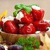Peperoncini di Calabria farcis au pecorino Pecorino Calabrese Delizie di Calabria