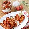 Tomates séchées marinées dans l'huile d'olive extra-vierge