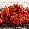 Tomates séchées marinées dans l'huile