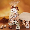 Mélange de truffes au chocolat - pistache, chocolat noir et stracciatella
